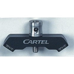 Cartel Stabiliser V-Bar angled 35deg out 15 deg down