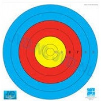 JVD World Archery Target Face 80cm 10-5 Scoring Zones