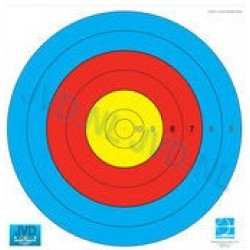 JVD World Archery Target Face 80cm 10-5 Scoring Zones