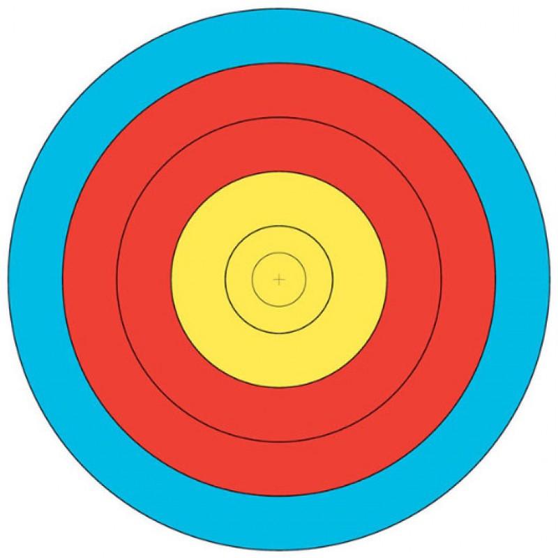 Jvd Target Face Fita 60cm 10 6 Scoring Zone
