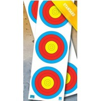 JVD World Archery Target Face 3 x 20cm Vert. Original