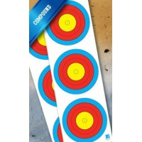 JVD World Archery Target Face 3x20cm Vert. Compound