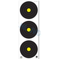 JVD World Archery Field Target Face 3x20cm Vertical