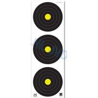 JVD World Archery Field Target Face 3x20cm Vertical